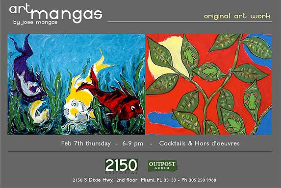 Art Mangas February 7th Exposition
